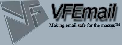 VFEmail - Making email safe for the masses